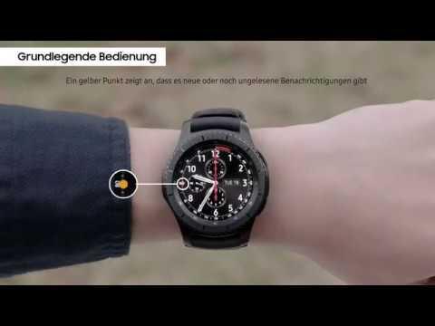Samsung Gear S3: Die wichtigsten Funktionen