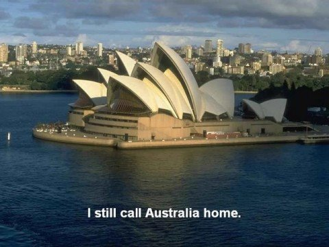 I still call australia home peter allen youtube for Why is house music called house