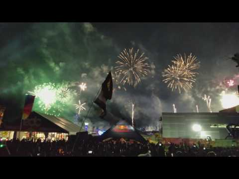 Best Angle  Porter Robinson Closing EDC 2017  Goode  Language  +FIREWORKS!