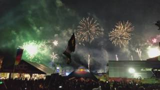 Best Angle - Porter Robinson Closing EDC 2017 - Goodbye Language Live (FIREWORKS!)