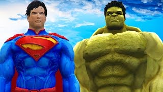Superman Vs Hulk Epic Superheroes Battle