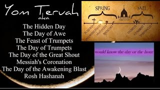 Feast of Trumpets Yom Teruah Rapture 2015 (Full video links in description)