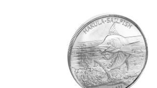 APMEX Silver Coins    2016 Tokelau 1 oz Silver $5 Hakula Sailfish