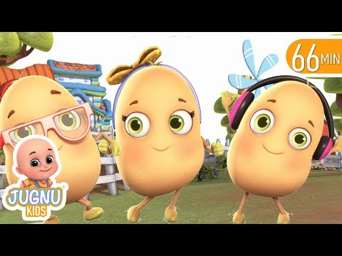 One Potato Two Potato | Numbers Song | Nursery Rhymes From Jugnu Kids