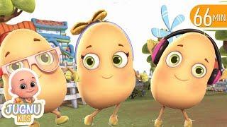 one potato two potatoes | Babies Songs | Jugnu Kids Nursery Rhymes & Kids Songs