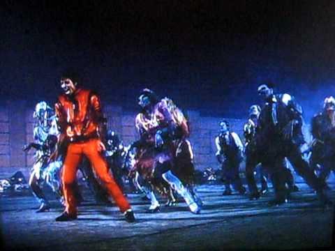 Видео, Michael Jackson Thriller Coreografa con zombies