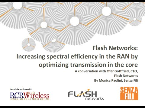 Increasing spectral efficiency in the RAN by optimizing transmission in the core