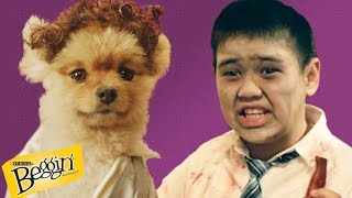 Kids Teach Dogs Trick-or-treating // Presented By Buzzfeed & Beggin' Strips