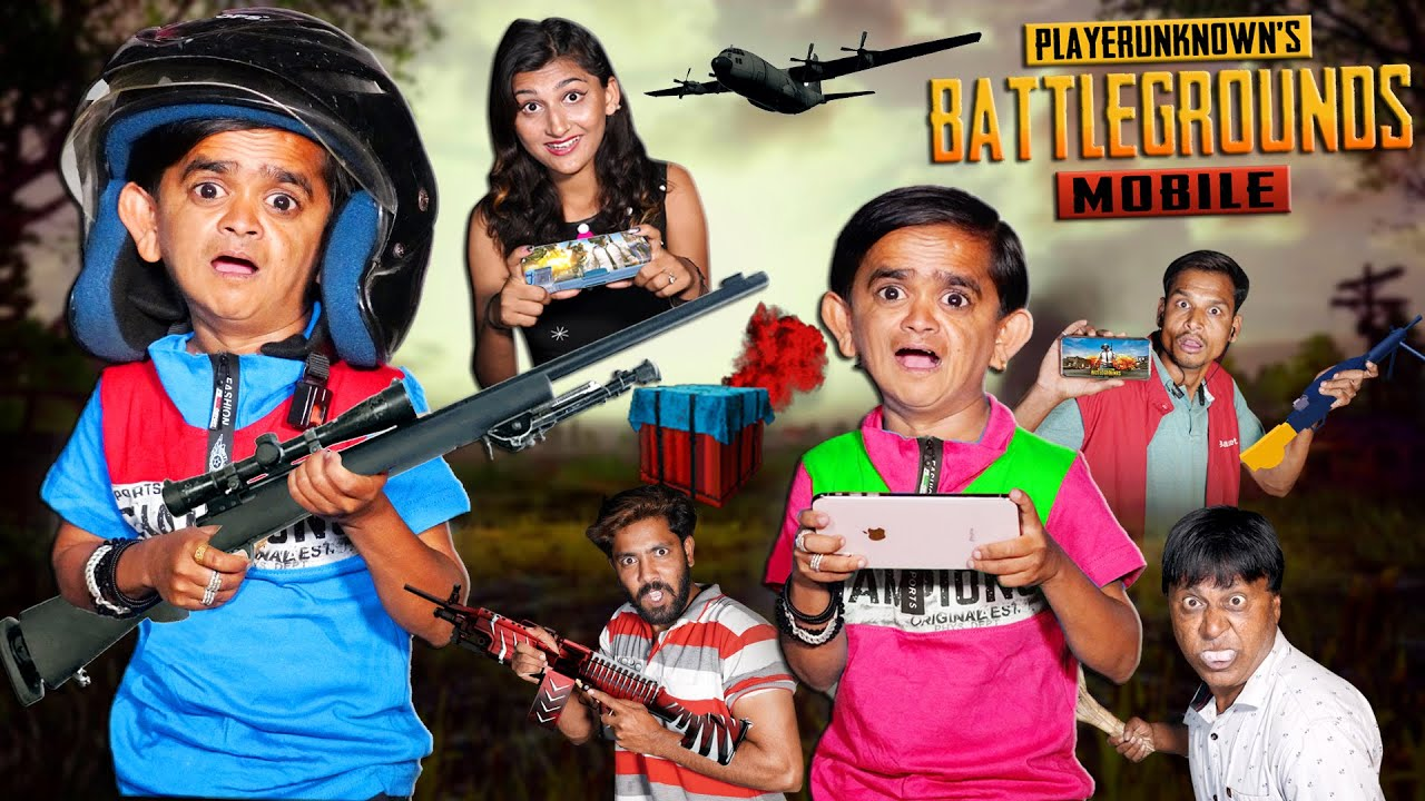 "CHOTU DADA KA PUBG GAME |""छोटू दादा का मोबाइल गेम "" Khandesh Hindi Comedy 