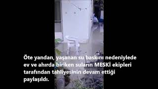 MersinHaber.com - Mersin'de Yaşlı Çiftin Yaşadığı Evi Her Yağmur Sonrası Su Basıyor
