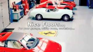 Create A Tough Floor For Your Garage, Workshop, Utility Room Etc