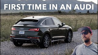 My First Audi Drive Ever With The SQ5 Sportback!