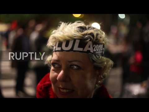 Brazil: Protesters hit Sao Paulo streets in reaction to Lula's prison sentence