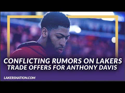 Lakers News Feed: Conflicting Rumors on Lakers Trade Offers For Anthony Davis