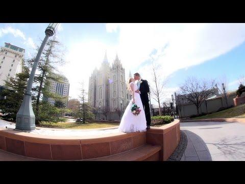 Utah Wedding Video     Rachel & Connor - SLC Temple Wedding Highlight Film