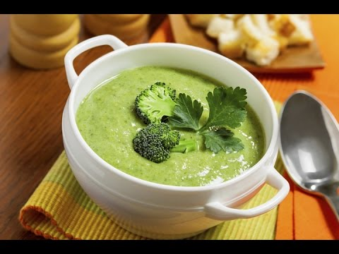 Простой и быстрый  крем- суп из брокколи. Соус Бешамель.broccoli soup. bechamel