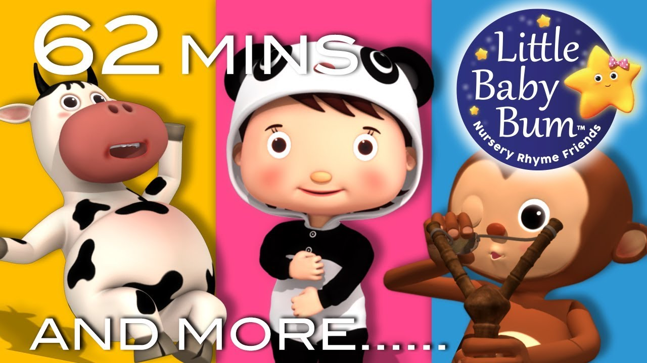 Learn With Little Baby Bum Funabcs And 123s Nursery Rhymes For Babies Songs For Kids Youtube