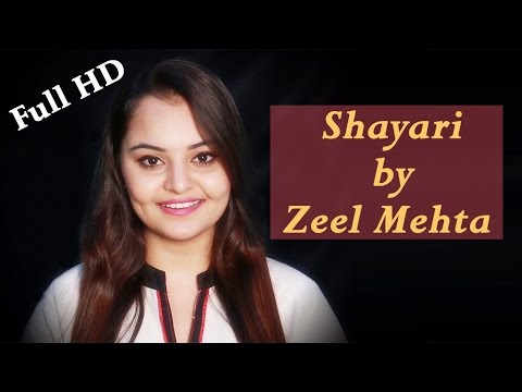 Hindi Romantic Shayari | Full HD Video | Zeel Mehta Shayari | Pyaar, Ishq, Mohabbat