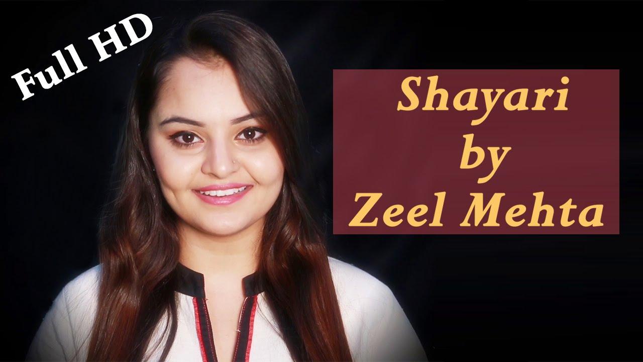 Hindi Romantic Shayari | Full HD Video | Zeel Mehta Shayari | Pyaar, Ishq,  Mohabbat