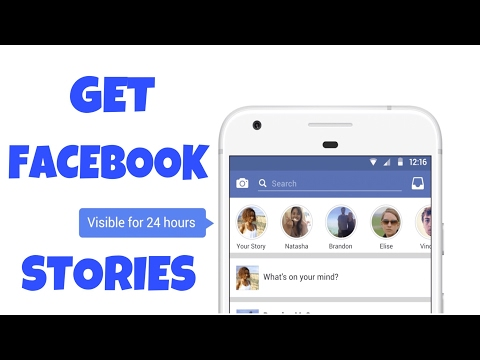 How To Get Facebook Stories Feature   New Facebook Update Feature