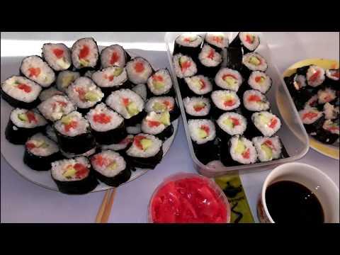 Солим красную рыбу для роллов в домашних условиях