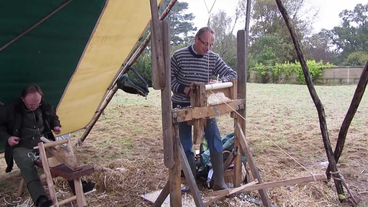 Making A Pole Lathe Treadle Assembly Youtube