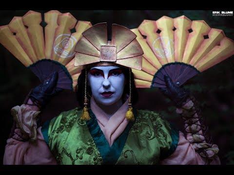 Avatar Kyoshi Makeup Time Lapse