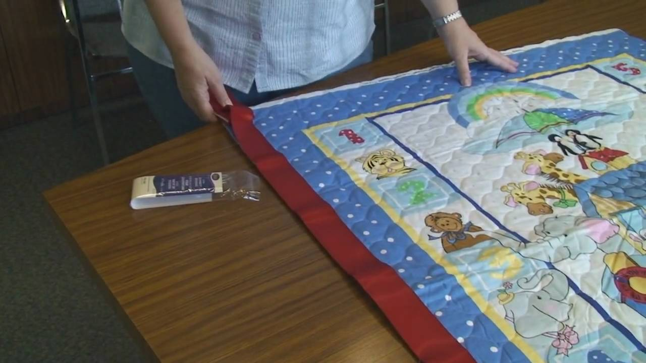 Easy Fabric Panel Quilt Youtube