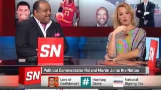 Roland Martin & #AscotNation Take Over ESPN