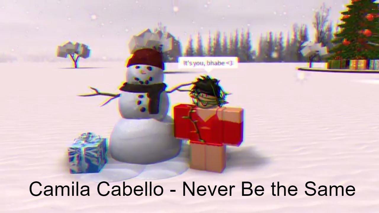 Roblox Music Video | Camila Cabello - Never Be the Same - YouTube