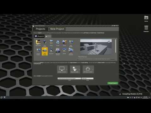 UnrealEngine 4 - Post installation on Kubuntu 18 04 (Beta 1)