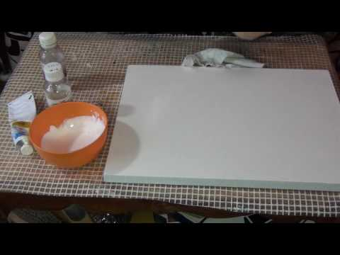 Как подготовить холст для рисования маслом
