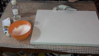 как подготовить холст для рисования масляными красками