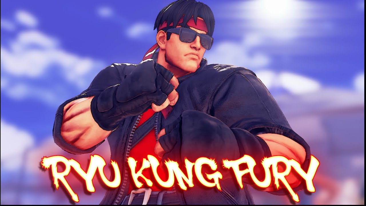 Street Fighter V Pc Mods Ryu Kung Fury By Khaledantar666
