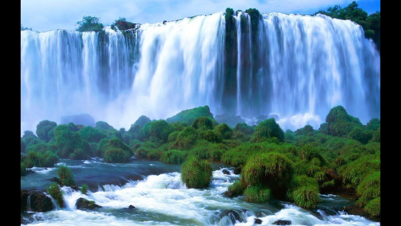 Niagara Falls Moving Wallpaper The World S Most Beautiful Waterfalls Youtube