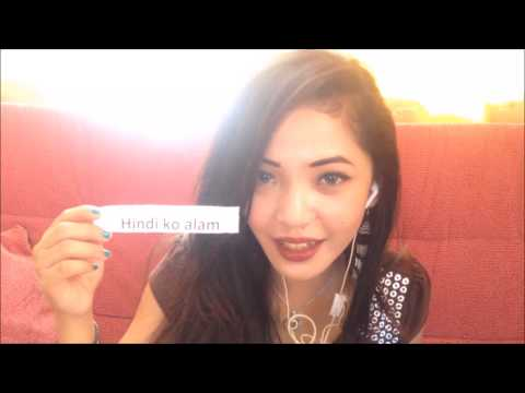 ASMR - Tagalog (Filipino) Language Tutorial #2
