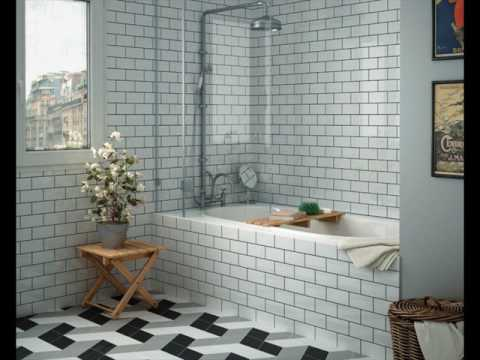 Metro Tile Designs metro bathroom wall tiles design uk - youtube