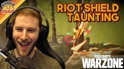 Riot Shield Taunting ft. Boom - chocoTaco COD Warzone Duos Gameplay