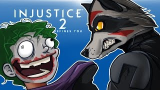 INJUSTICE 2 - BATCOON VS DATHI DE JOKER!