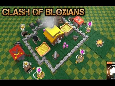 CLASH OF CLANS IN ROBLOX?!