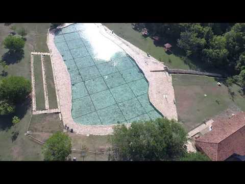 Drone Phantom 4 Pro sobrevoa PARQUE NACIONAL DE BRASÍLIA - Águas Mineral