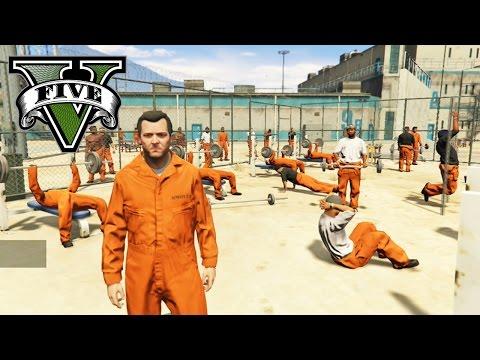 GTA 5 PC MOD DE LA PRISION! ESCAPE EPICO DE LA PRISION | CARCEL FUNCIONAL EN GTA V PRISON BREAK MOD