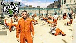 GTA 5 PC MOD DE LA PRISION! ESCAPE EPICO DE LA PRISION   CARCEL FUNCIONAL EN GTA V PRISON BREAK MOD