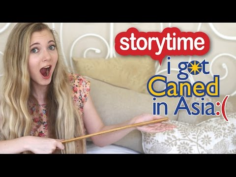 Storytime: I got CANED in Asia at my Chinese School! OMG!
