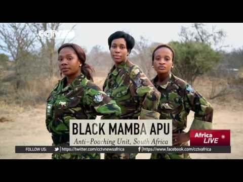South Africa's all-female anti-poaching team honored