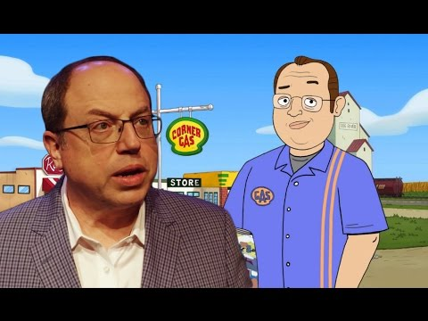 Brent Butt on the new animated Corner Gas
