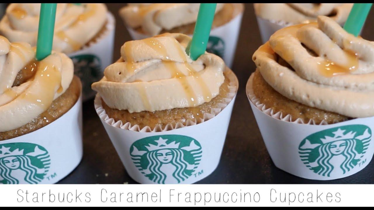How To Make Starbucks Caramel Frappuccino Cupcakes Recipe