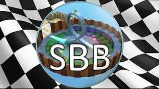 DA FAKE STAMPY! | Super Blocky Ball Roblox
