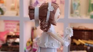 Подарок на свадьбу своими руками. Кукла 'Невеста Виктория' из фоамирана