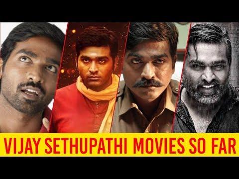 Vijay Sethupathi Movies List | Yuga Movies So Far |Vijay Sethupathi
